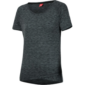 Löffler Raingle Fahrrad T-Shirt Damen granite rainbow